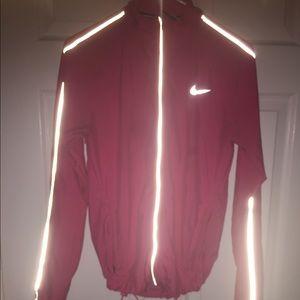 A Nike runner windbreaker (in pink )